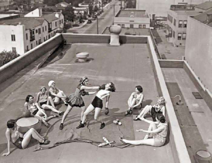 Бои без правил. США, Лос-Анджелесе, 1933 год.